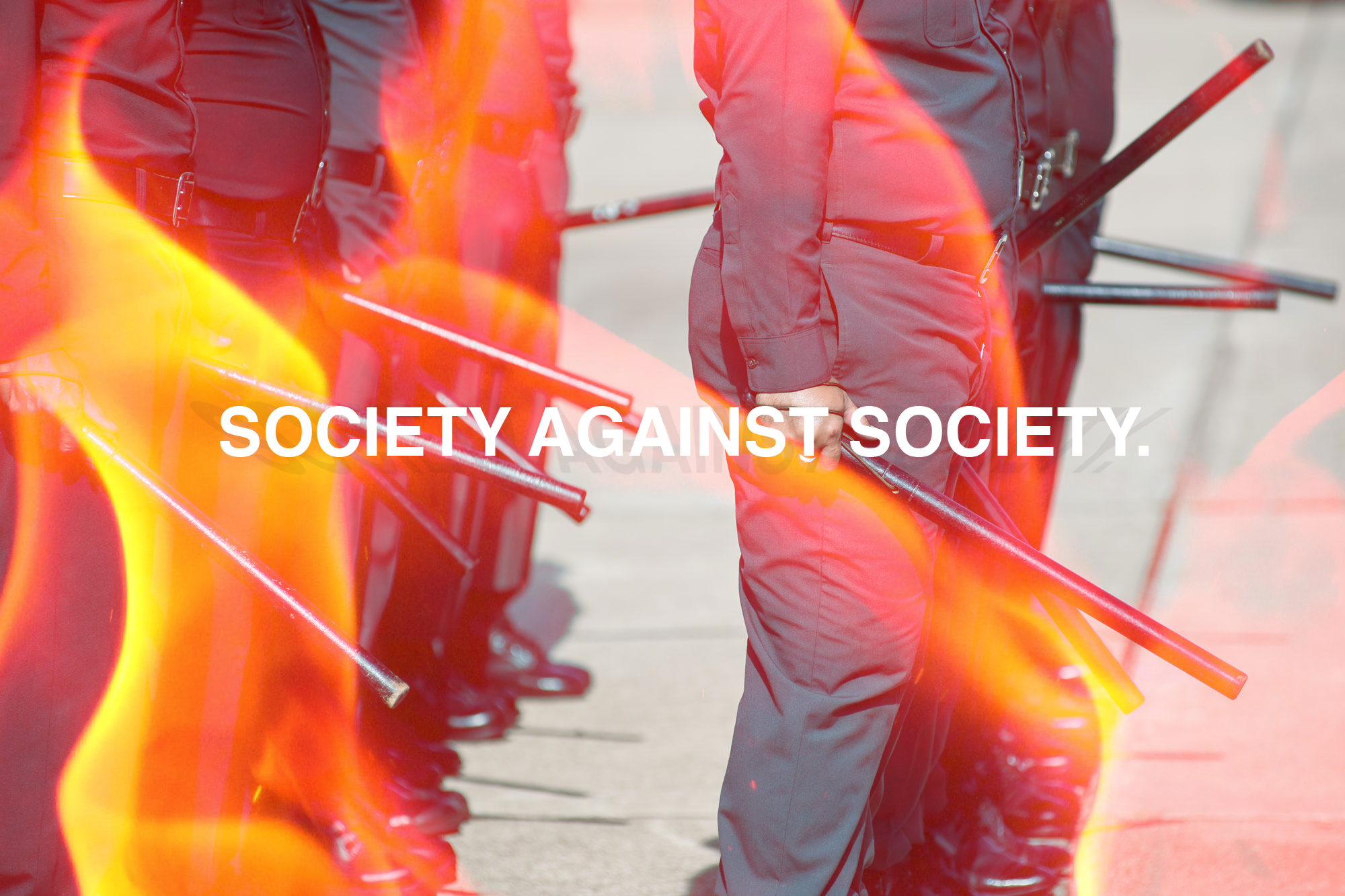 'Society against Society' 2015 - Ethan Solouki